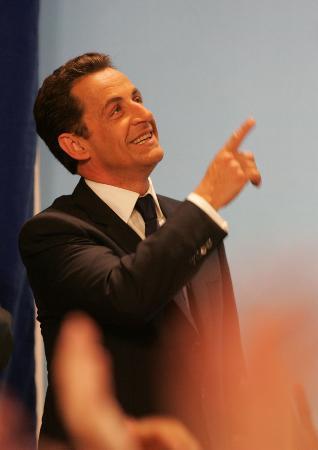 图文:萨科齐当选法国总统