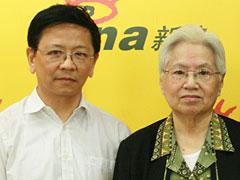 国家地震局专家孙士宏、梅世荣