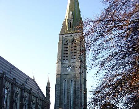 校园内的大钟是英国大本钟设计者的另一部作品-爱尔兰国立梅努斯大