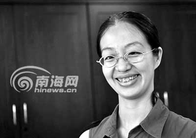 1989年海南女状元恋家毕业后回琼工作(图)