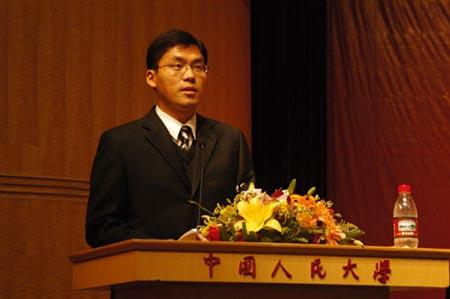 人大法硕10周年大会:教师、在校生发言(组图)