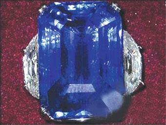 世上最纯正蓝宝被盗 悬赏10万英镑寻宝(图)