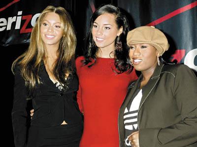 美国三位年轻当红女歌手碧昂丝