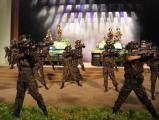 组图:彭丽媛董文华等齐唱《一个士兵的日记》