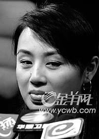 曹颖亮相深圳为新剧造势与男友感情靠聊天维系