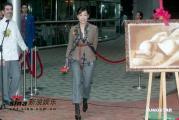 组图:林忆莲谈煮上海菜心得不愿接受记者采访