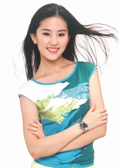 刘亦菲正面回应八卦传闻:我继父没那么多钱(图)