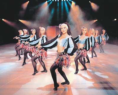 《舞之王》明年再访京城 中国古乐融合肚皮舞