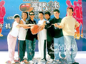 李灿森做篮球教练(图)