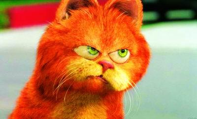 影音娱乐 电影宝库 正文  点击此处查看其它图片 好吃懒做的加菲猫是
