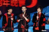 组图:张惠妹朱孝天伍佰等出席台北跨年演唱会