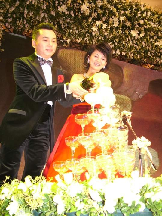 图文:李湘李厚霖婚礼高朋满座各界好友道贺(4)