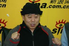 潘长江韩善续莫歧作客新浪聊舞台喜剧(组图)