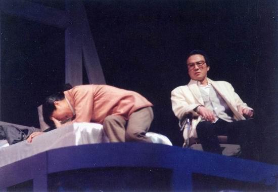 资料图片:话剧《原罪》1989年演出照(2)