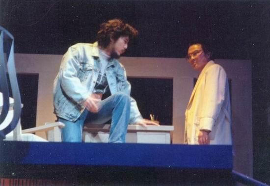 资料图片:话剧《原罪》1989年演出照(3)