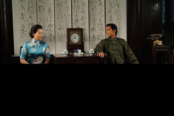 资料图片:电视剧《月影风荷》精彩剧照(5)