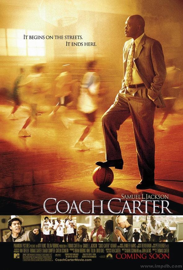 资料图片:电影《卡特教练》精彩海报