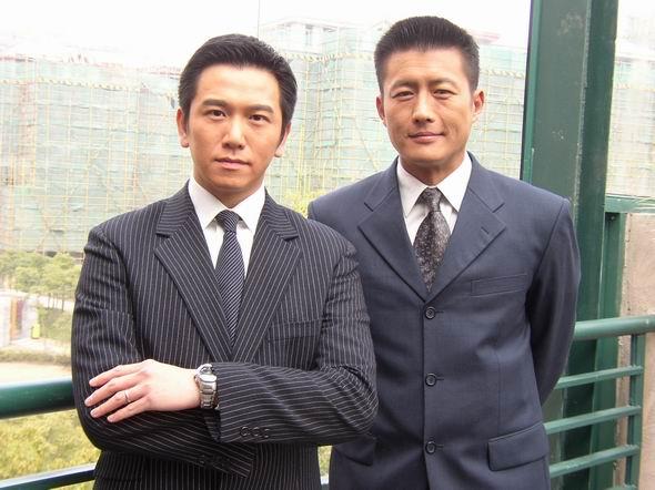 资料图片:电视剧《抢滩大上海》精彩剧照(22)