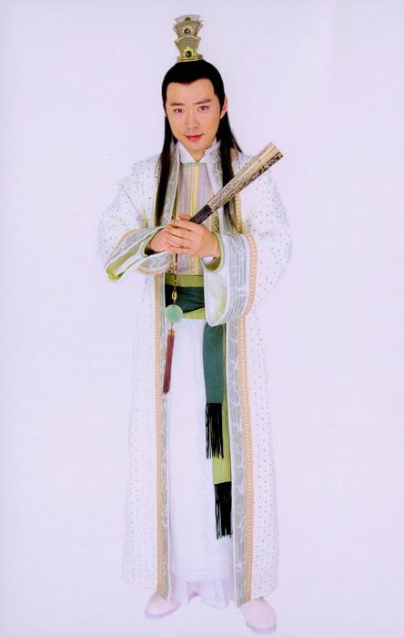 资料图片:《醉打金枝》人物造型--李权(高鑫饰)