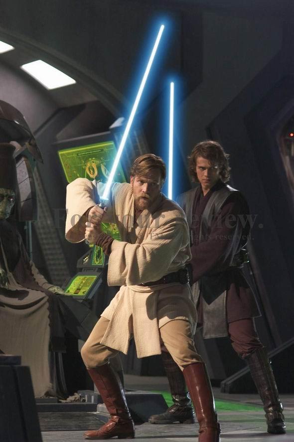资料图片:《星战前传3:西斯的反击》剧照(2)
