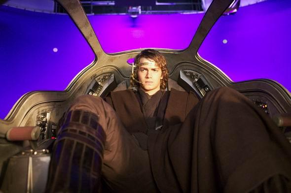 资料图片:《星战前传3:西斯的反击》剧照(3)