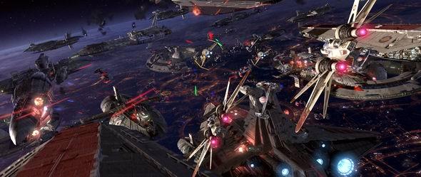 资料图片:《星战前传3:西斯的反击》剧照(28)