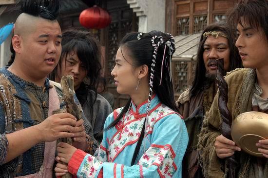 图文:黄圣依《功夫状元》变身野蛮女友使暴力(2)