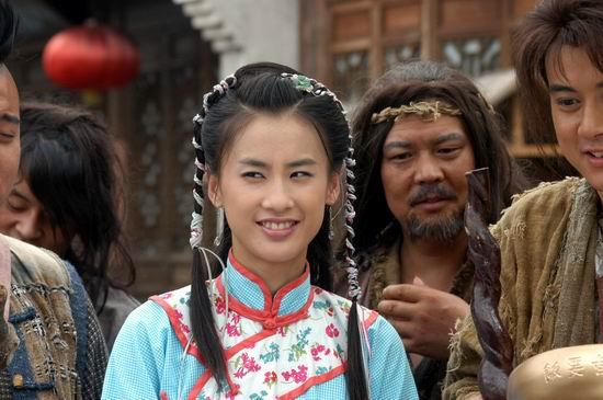 图文:黄圣依《功夫状元》变身野蛮女友使暴力(5)