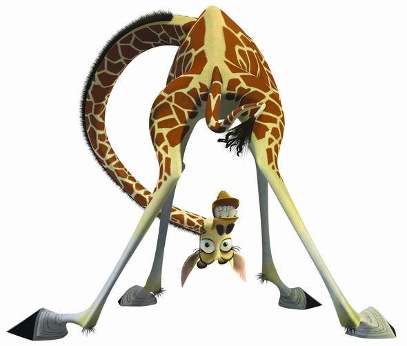 资料图片:动画片《马达加斯加》动物造型(38)