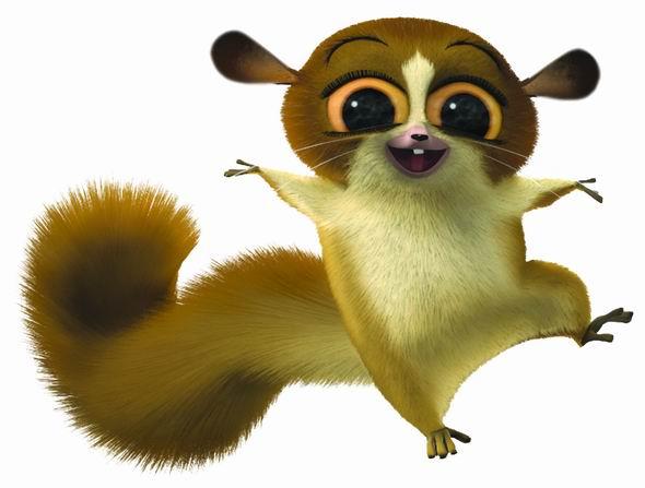 动画片 马达加斯加 动物造型 41