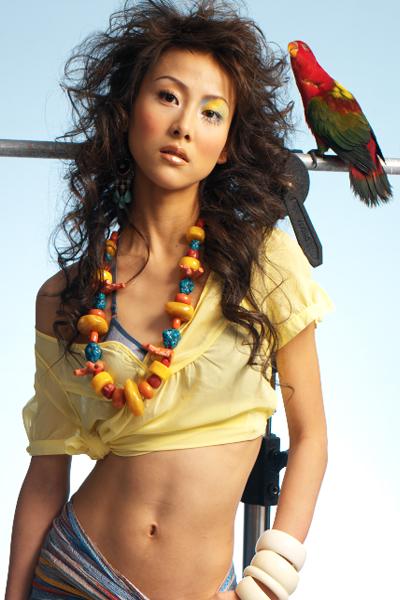 资料图片:我型我SHOW六强选手-贾青