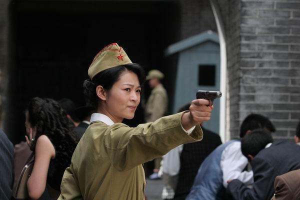资料图片:《红色追击令》第六批剧照(3)