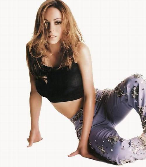 资料图片:流行女歌手玛丽亚-凯莉性感写真(24)