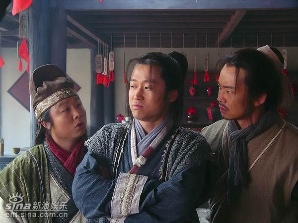 资料图片:电视剧《鼓上蚤时迁》精彩剧照(20)