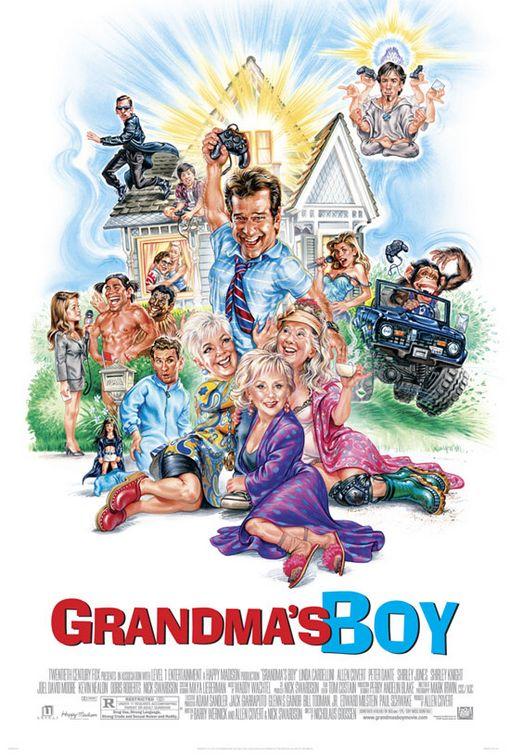 资料图片:《祖母宝贝儿》海报