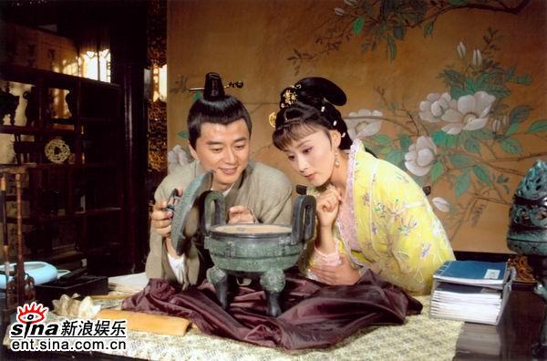 资料图片:黄梅戏剧《明月清照》精彩剧照(7)