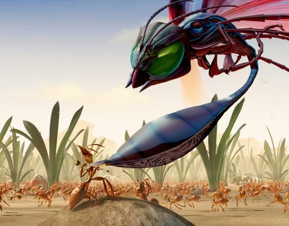 资料图片:动画片《别惹蚂蚁》精美剧照(21)