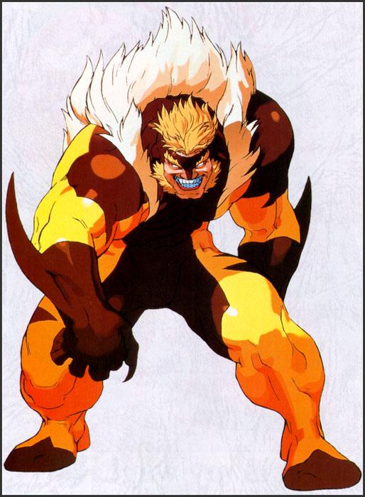 资料图片:《X战警》漫画人物造型(7)
