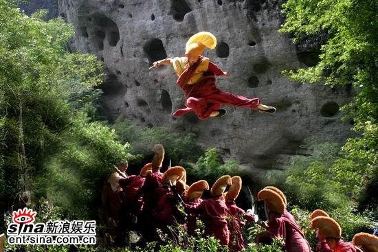 资料图片:张纪中版《鹿鼎记》精彩剧照(4)