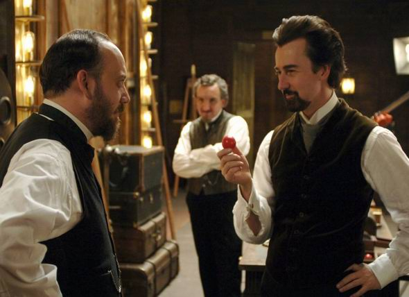 The Illusionist DVDRip XviD DiAMOND preview 2