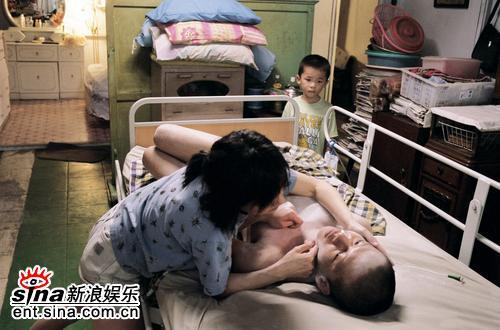 资料图片:蔡明亮争金狮力作《黑眼圈》剧照(4)