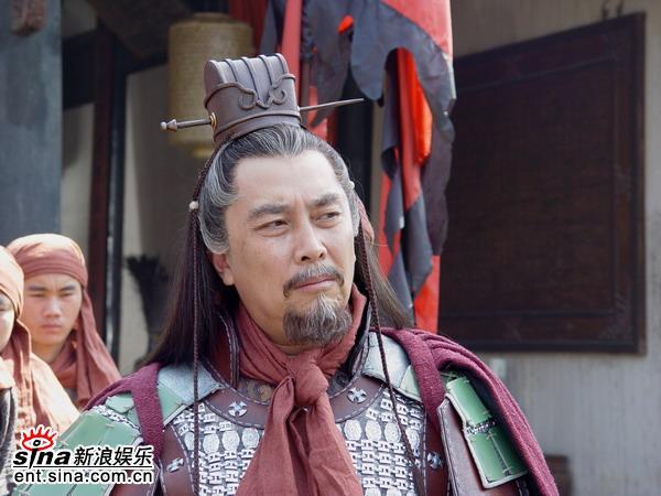 资料图片:《朱元璋还乡》--唐国强饰郭子兴