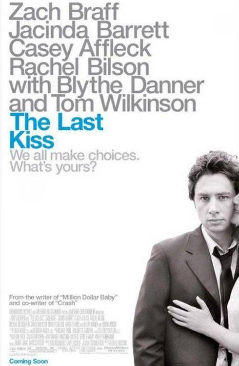 资料图片:喜剧片《最后一吻》精美海报