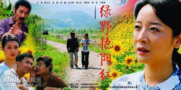 资料图片:中视影视作品海报-《绿野艳阳红》