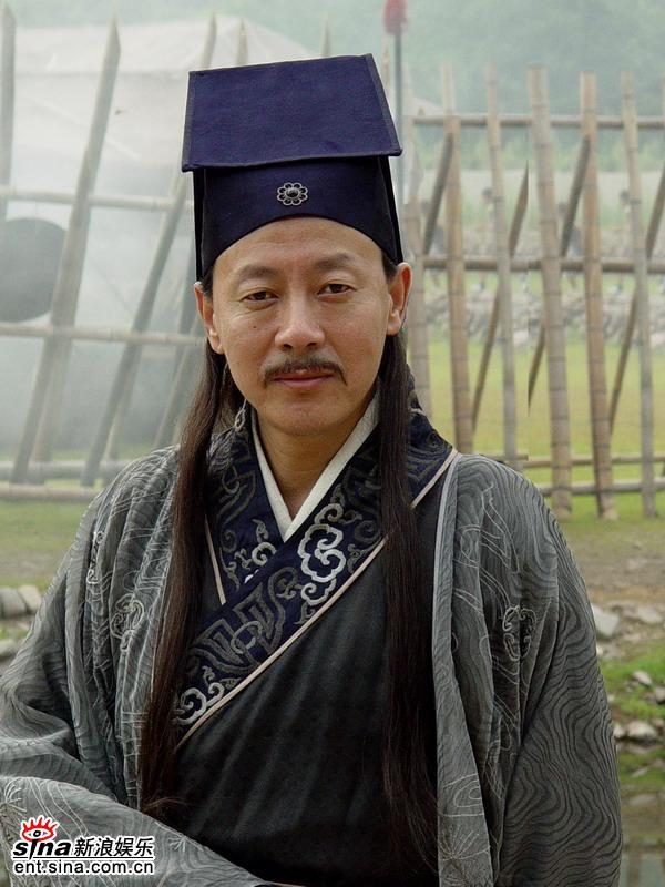 资料图片:《传奇皇帝朱元璋》--侯天来饰胡惟庸(1)