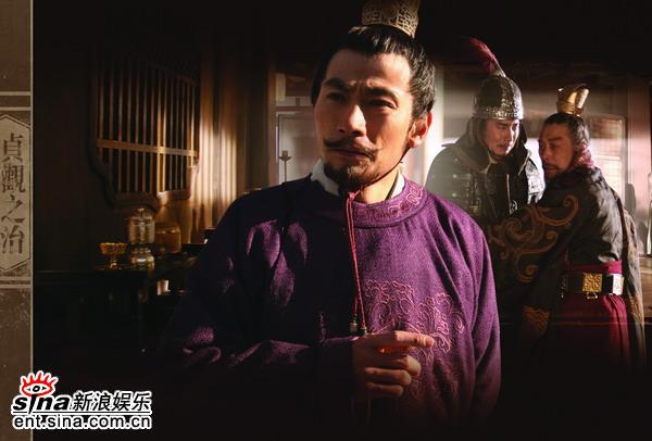 资料图片:《贞观之治》人物--陆剑民饰李建成