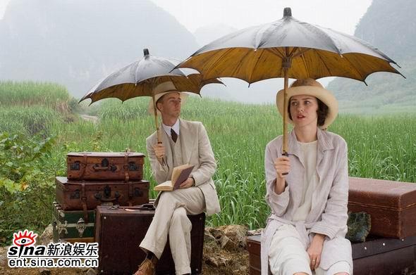 资料图片:中美合拍电影《面纱》剧照(6)