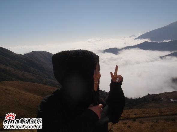 资料图片:纪录片《毕摩纪》工作照(34)