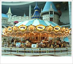资料图片:《天国的阶梯》经典场景--游乐园