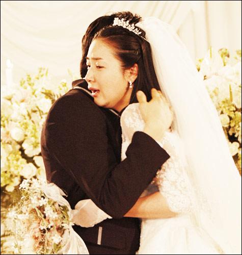 资料图片:《天国的阶梯》之诚俊静书的婚礼(6